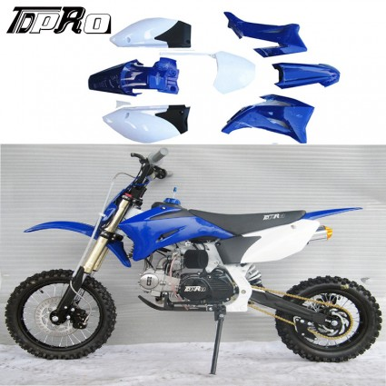 YAMAHA TTR110 TTR 110 BLUE PLASTIC FENDER KIT TTR 110 BLUE KIT NEW