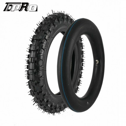TDPRO 2.50-10 Tire + Tube For XR50/CRF50//TTR50/SDG/ Dirt Pit Bikes 2.5-10 Tyre PW50