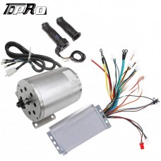 48V 1800W Electric Brushless Motor Controller Throttle Grips for Razor Bike ATV