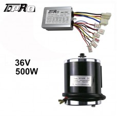 36V 500W Brush Electric Motor & Speed Controller EVO Scooter MY1020 Mini E-Bike