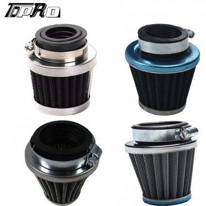 Universal 28mm/35mm/38mm/45mm Motorcycle Air Filter Filters Systems Moto Minibike Cleaner For ATV Quad Dirt PitBike Softail