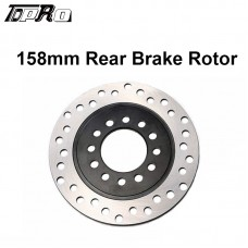 TDPRO 158mm Rear Brake Disc Disk Rotor For Quad ATV Buggy Go Kart TAOTAO COOLSTER
