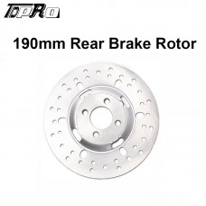 TDPRO 190mm Rear Brake Disc Disk Rotor for Quad ATV Buggy Go Kart TAOTAO 4 Wheeler