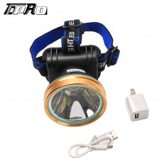 Bright Headlamp LED Rechargeable Flashlight Headlight Camping Fishing hunt