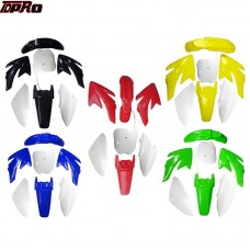 TDPRO New Motorcycle Mudguards Panels Plastics Fairing Fender Body Cover Kits Fit Honda CRF70 150cc 160cc 200cc PIT Dirt Bike
