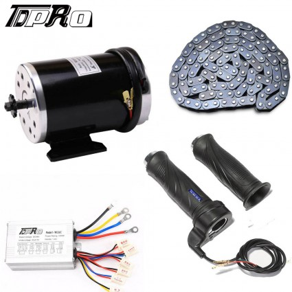 1000W 48V electric motor Controller Throttle Chain scooter go-kart minibike