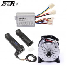 36V 350W Electric Bicycle Go Kart ATV Brush Motor + Speed Controller Throttle