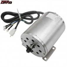 TDPRO 1800W 48V Brushless DC Motor T8F 9 Teeth Electric Kart Motor For Drift Trike ATV Quad Go Karts Karting Parts Accessories