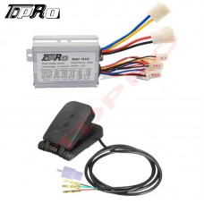 36V 350W Electric Bicycle Scooter Brushed Motor Speed Controller Foot Pedal DIY