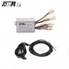 36V 350W Motor Brushed Controller Speed Control Thumb Twist Throttle e Bike Razo