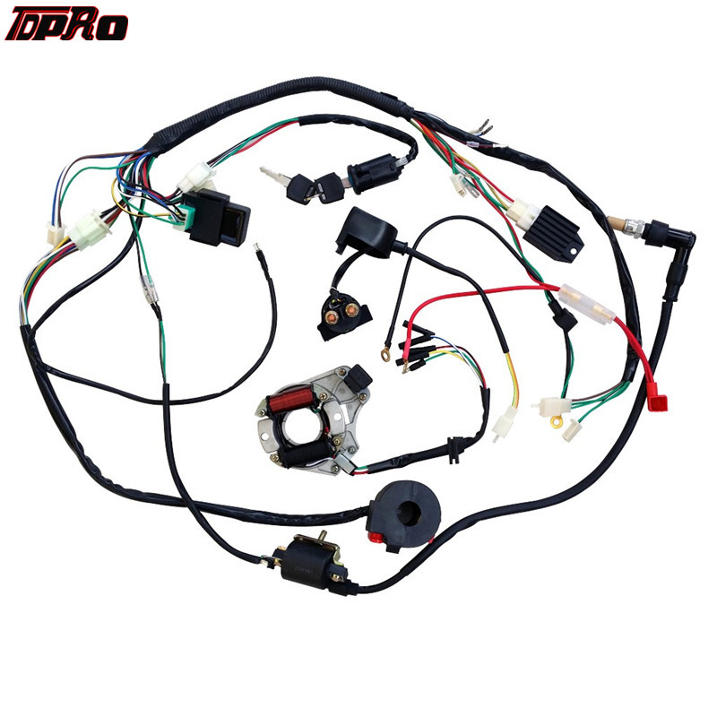 TDPRO High Quality Complete Electrics All Wiring Harness ... on