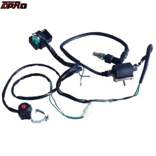 TDPRO PitBike Ignition Coil CDI Spark Plug Kill Switch For Motorcycle 50cc-160cc ATV Buggy 4 Wheels Scooter