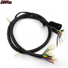 TDPRO Go Kart Brushed WIRING HARNESS WIRE LOOM Reverse For Electric ATV Motobike Scooter Pit Bike Buggy