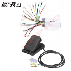 48V 1800W Brushless Speed Controller + Foot Pedal fo Go Cart Golf Razor Tricycle