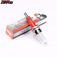 TDPRO Spark Plug 3 Electrode Moped For CG 125 150 200cc Scooter ATV Dirt Bike CF250 CH250 Engine