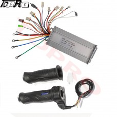 48v 1000w Brushless Electric Motor Speed Controller Throttle Go Kart Scooter