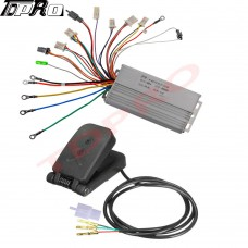 36v 800w Brushless Electric Motor Speed Controller + Foot Pedal Go Kart Scooter