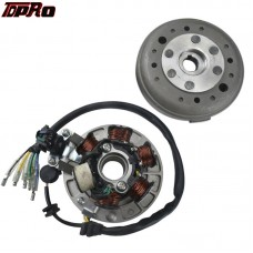High Performance Magneto Stator Rotor Flywheel Kit For Motorcycle Lifan 110cc 125cc 140CC 150CC SSR SDG Pitbike