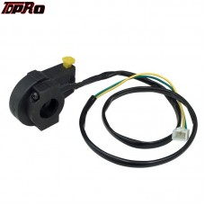 TDPRO Kill Switch 7/8'' Horn Start On Off Button Universal Motorcycle ATV Dirt Bike