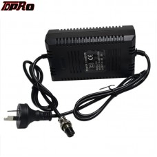 TDPRO 36V 1.8A 3Pin Plug Connector Lithium Battery Charger For Electric Scooter ATV Go Kart Bike Pitbike