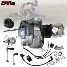 TDPRO 140cc 4 Stroke Engine Motor W/CARB AIR FILTER Manual Clutch 1N234 Gear For Scooter Dirt PitBike Pocket Bike