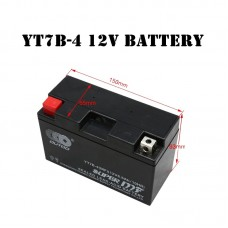 Genuine New AGM BT-YT7B-BS Motorcycle Battery YT7B-BS YT7B-4 For 2000-2011 SUZUKI DRZ400 Yamaha YFZ450