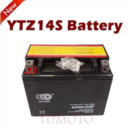 TDPRO YTZ14S New Motorcycle Battery for Honda 750 VT750DC Spirit Shadow ACE Tourer Aero VT ST 750 1100 1300 A1