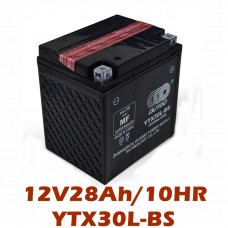 TDPRO 12V 28Ah UTX30L YTX30L-BS Motorcycle Battery For Harley DAVIDSON 1340 1450 1580 Touring Polaris
