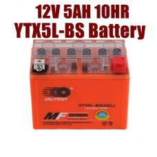 TDPRO 12v 5Ah YTX5L-BS Motorcycle Battery for Honda KTM XC-W 530CC 2009-2012