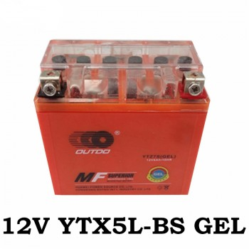 TDPRO GEL YTZ7S Motorcycle Battery for Arctic Cat DVX90 E-Ton Viper 70 Honda CRF CBR1000RR KLX450R ZX10R DRZ250, TRX450ER ATV