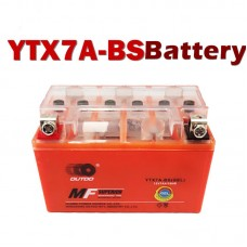 TDPRO YTX7A-BS 12V7AH/10HR Battery Motorcycle for Scooter KYMCO People 150 150CC Honda Yamaha BMW KTM