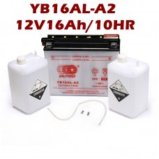 TDPRO 12V 16Ah YB16AL-A2 Motorcycle Battery For Yamaha VMX1200 XV700 XV75 nowmobile Phazer Venture VX VK VT For Ducati Monster