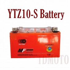 TDPRO 12V 8.6Ah YTZ10S ATV GEL Battery For Motocycle Suzuki LT-R450 QuadRacer 450 Yamaha YFM350 Raptor 350