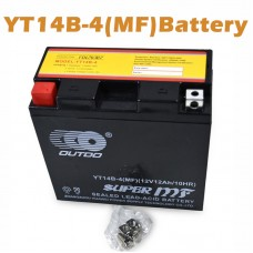 TDPRO 12V 12Ah YT14B-BS Motorcycle Battery for YAMAHA XV1700P Road Star Warrior 1700CC Honda Suzuki BMW XQ