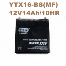 TDPRO 12V 14Ah AGM YTX16-BS Battery for Motorcycle 98-02 Suzuki LT-A500F LT-F500F Quadmaster Quadrunner