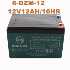 TDPRO 12V 12Ah 6-DZM-12 Rechargeable Motorcycle Battery For Electric Scooter Bike Go kart Motorcycle ATV
