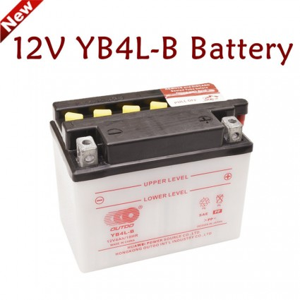TDPRO New 12V YTX4L-BS AGM Motorcycle Battery For Aprilia Honda Yamaha Electric Scooter Snapper Ride on Mowers ATV Quad