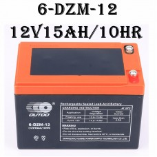 TDPRO 12v 15ah 6-DZM-12 Battery For Razor Electric Bike Scooter Fits MX500 & MX650 W15128