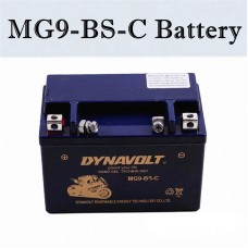 TDPRO 12V 9AH MG9-BS-C Motorcycle Battery For ATV Go Kart YTX9-BS 2007 Kawasaki ZZR600