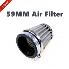 TDPRO 59mm Air Filter for Motorcycle 150cc 110cc 125cc for Pit ATV GY6 Dirt Bike Buggy Quad