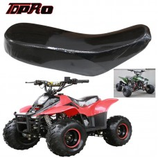 TDPRO Black Seats Motorcycle Foam Seat Cover Cushion For 70cc 90cc 110cc 125cc Racing Style Quad ATV 4-Wheeler Buggy