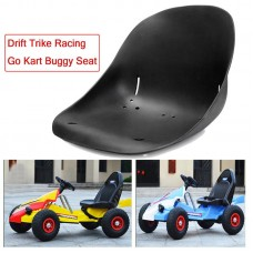 TDPRO Drift Trike Racing Go Kart Buggy Car Seat Saddle Black Plastic Off-Road Racing Seat Cover Motorcycle Bucket Modified Seats