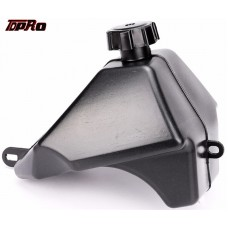 TDPRO Gas Petrol Fuel Tank+Fuel Cap Black New Fuel Supply Tanks For 50cc 90cc 110cc Chinese ATV Quad 4 Wheeler Hummer ATV Buggy
