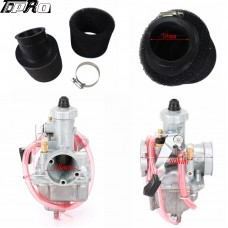 Mikuni VM22 Carb 26mm Carburetor Air Filter for  110c 125cc 140 cc Pit Dirt Bike