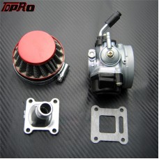 TDPRO 19mm Carburetor Air Filter for 2 Stroke 47cc 49cc Mini Motobike ATV Go Kart Dirt Pocket Bike
