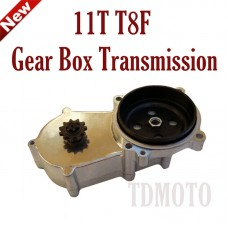 TDPRO 11T T8F 2 Stroke Gear Box Transmission For 47cc 49cc Mini Pocket Quad Dirt Bike ATV Scooter