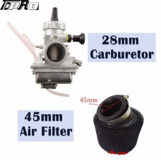 Mikuni VM24 28mm Carburetor Air Filter for 160cc 200cc 250cc 300cc Pit Bike