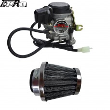 Carburetor Carb For SUNL ROKETA JCL 4-Stroke GY6 PD18J QMB139 50CC Scooter Moped