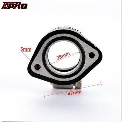 TDPRO VM24mm 26mm 28mm Carburetor Manifold Flange Adapter For Mikuni Dirt Bike