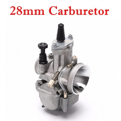 TDPRO 28mm Motorcycle Carburetor PWK Power Jet Motorbike Motorcycle Carb For PWK 28 Carb Dirt Bike ATV Buggy